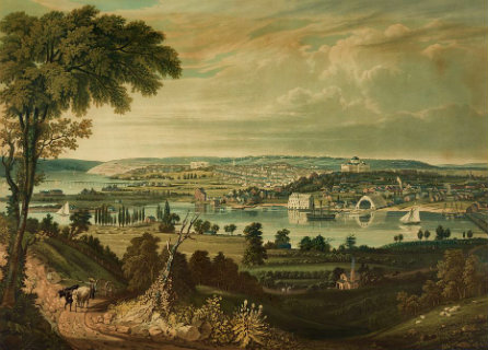 Washington, DC, from the Anacostia River, 1834