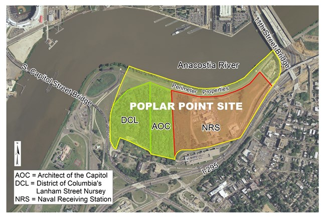 Poplar Point location figure