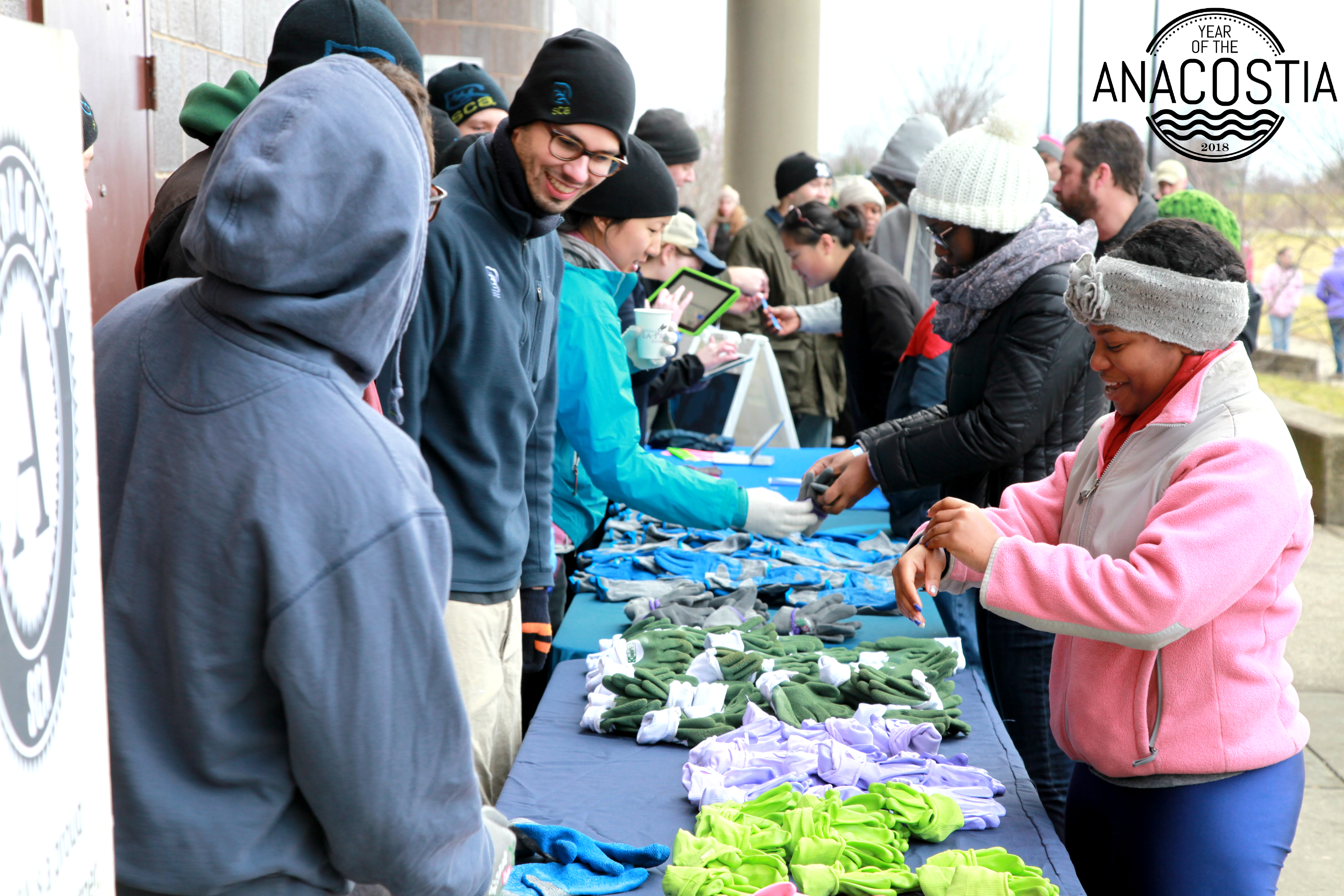 2015 MLK Day of Service in Anacostia Park