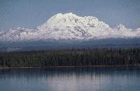 Mount Drum is one of the highest peaks in Alaska