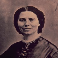 Historic photograph of a Clara Barton