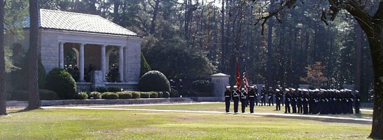 Honor Guard at a funeral