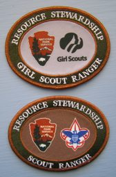 scout ranger patches