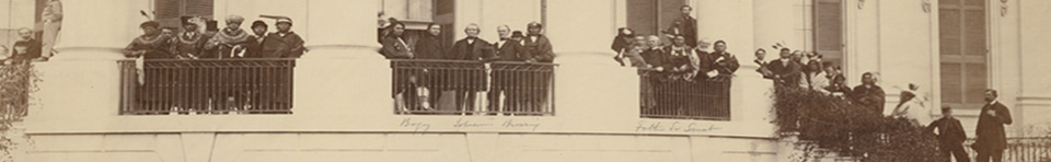 Andrew Johnson with Sioux delegation at White House