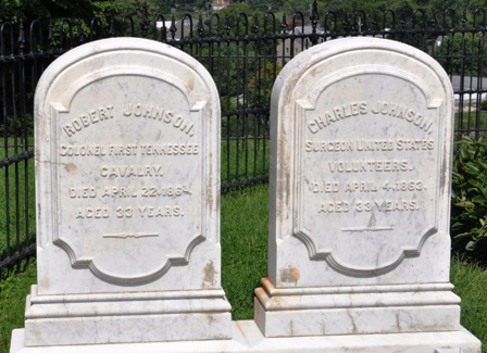 Robert and Charles markers