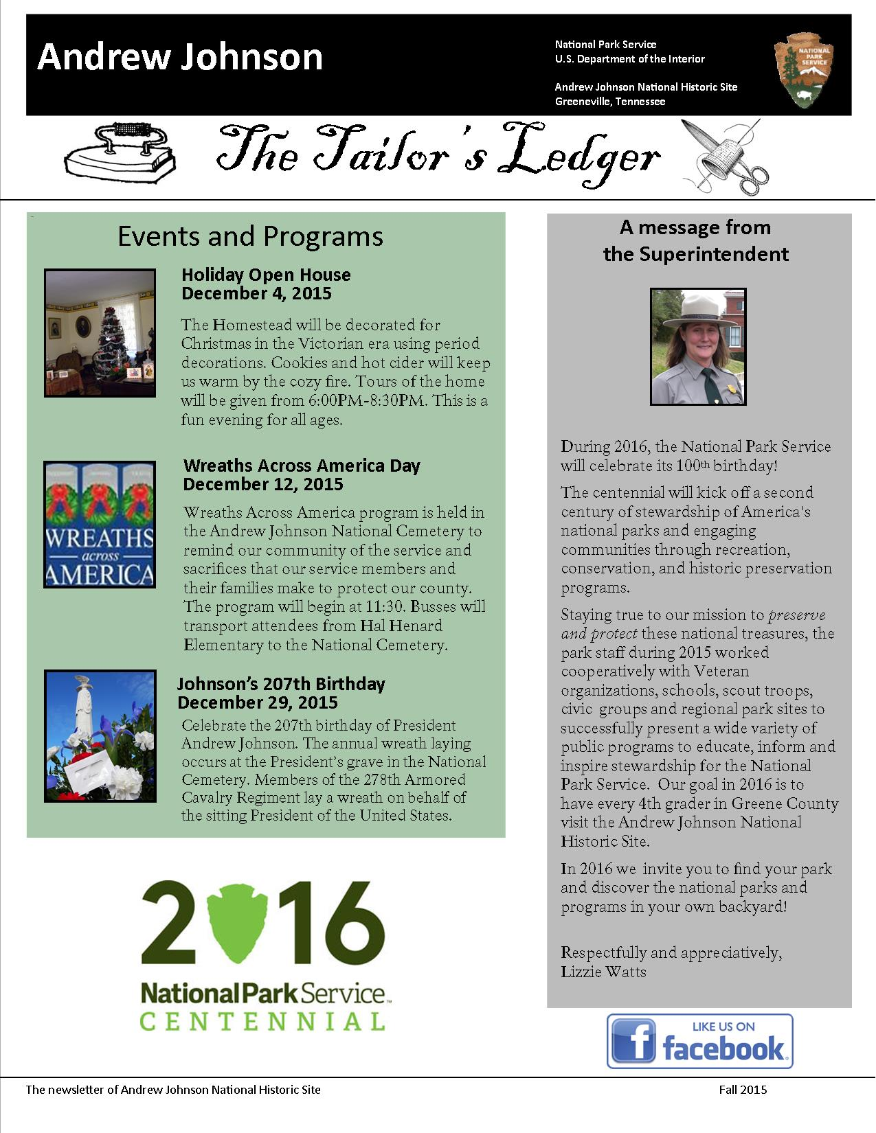 NEWSLETTER FALL 2015 (1)