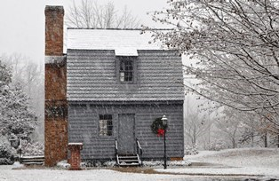 Snowy Birthplace Replica