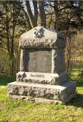 11th Connecticut Volunteer Infantry Monument