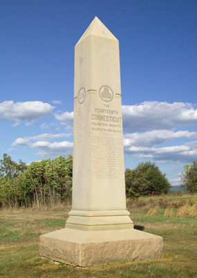 14th Connecticut Infantry Monument - Antietam National ...