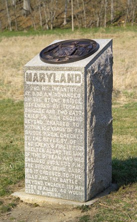 2nd Maryland Volunteer Infantry (US) Monument