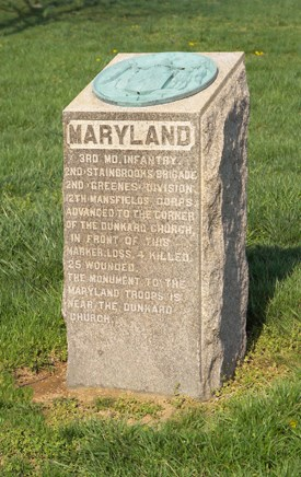3rd Maryland Volunteer Infantry (USA) Monument