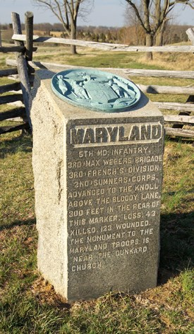 5th Maryland Volunteer Infantry (US) Monument