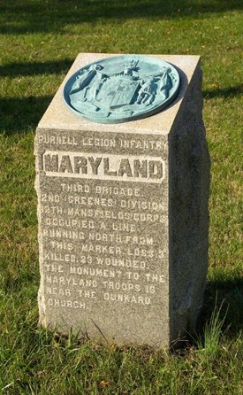 Purnell Legion Infantry, Maryland (USA) Monument