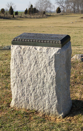 13th New Jersey Volunteer Infantry Monument-position 1