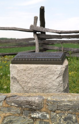 Hexamer's New Jersey Battery Monument - Second Position