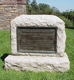 A Third Monument to the 1st New Jersey Brigade<br />located at Crampton's Gap on South Mountain