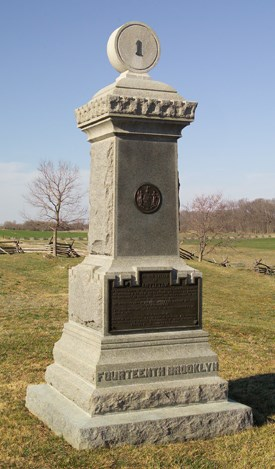 84th /14th Brooklyn Infantry Monument