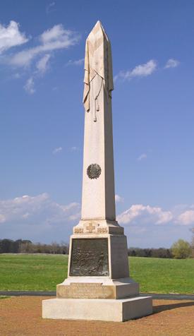 20th New York Volunteer Infantry Monument Antietam National