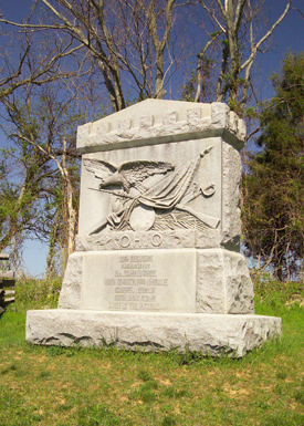 12th Ohio Volunteer Infantry Monument