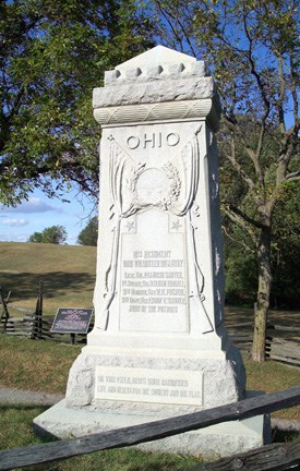8th Ohio Infantry Monument
