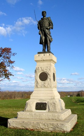 124th Pennsylvania Infantry Monument