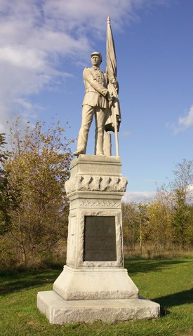 125th Pennsylvania Infantry Monument