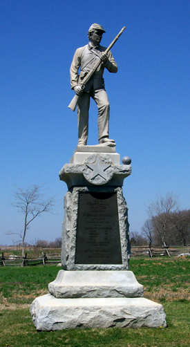 128th Pennsylvania Volunteer Infantry Monument