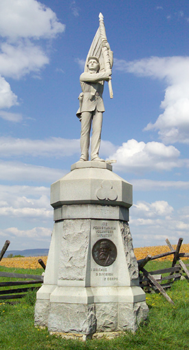 132nd Pennsylvania Volunteer Infantry Monument