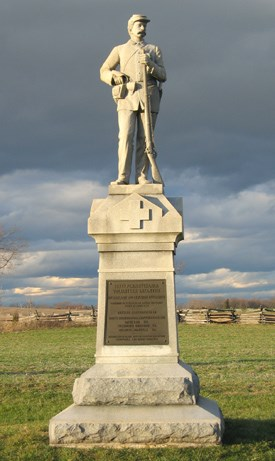 137th Pennsylvania Infantry Monument