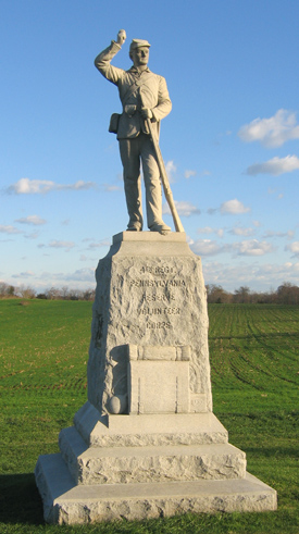 4th Pennsylvania Reserve (33nd) Volunteer Infantry Monument