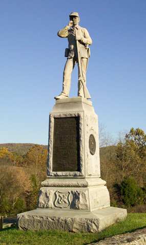 45th Pennsylvania Infantry Monument