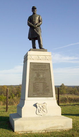 48th Pennsylvania Infantry Monument