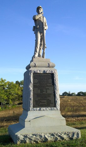7th Pennsylvania Reserve (36th) Volunteer Infantry Monument