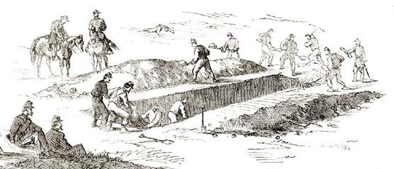burial crews