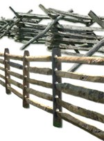 restored historic fences