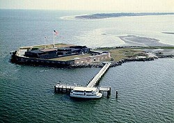 You can visit Ft. Sumter today, a unit of the National Park Service located in Charleston Harbor, South Carolina.