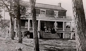The McLean House in late summer 1865.