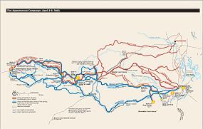 Places Appomattox Court House National Historical Park US - Appomattox us map