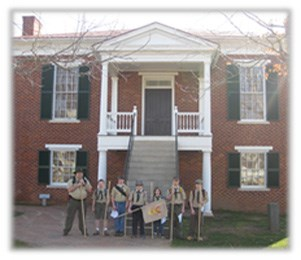 Boyscouts and courthouse copy