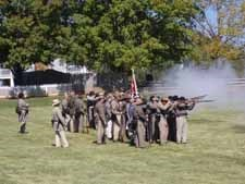 Living history troops