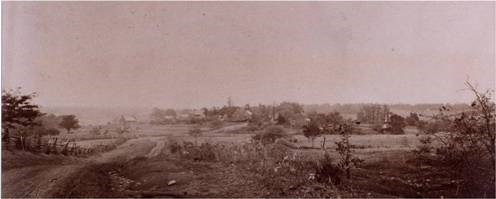 1890 Village from East