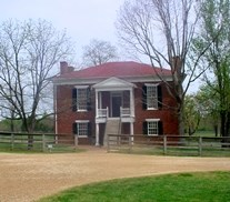 View of the Courthouse in Appomattox Court House