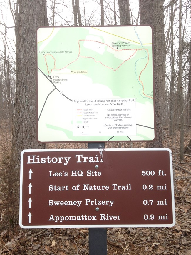 History Trail Map