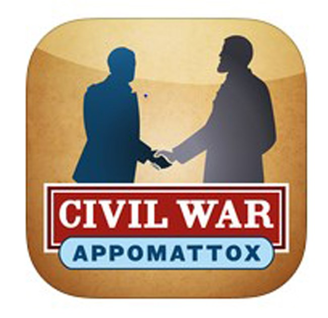 Logo for the Civil War App