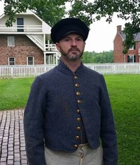 William Hubbard, former confederate soldier and current resident