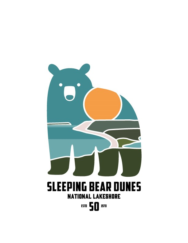 Logo of Sleeping Bear Dunes 50th Anniversary