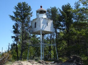 Chequamegon Point Light Tower