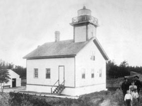 First Lighthouse on Long Island