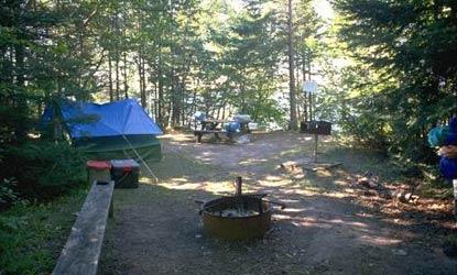 Apostle Islands National Lakeshore Camping