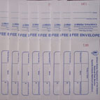 Here's what fee envelopes look like!